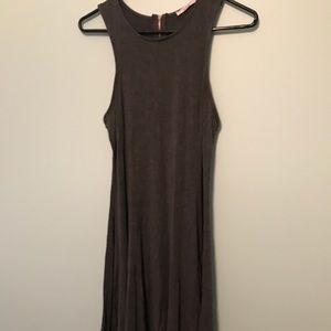 Acemi Gray Skater Dress
